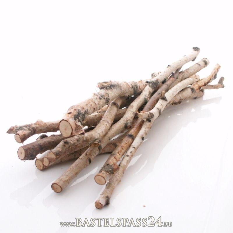 birkenzweige birken ste 10 st b ndel l 50 cm echtes birkenholz zum dekorieren. Black Bedroom Furniture Sets. Home Design Ideas