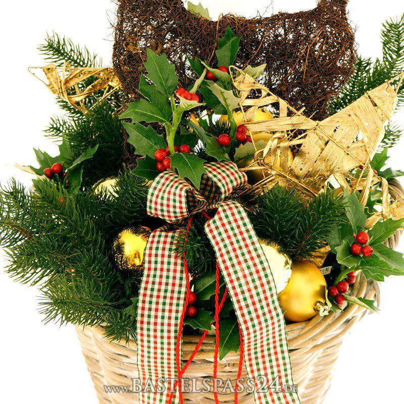 deko weihnachten t rschmuck f r eingang selber machen im. Black Bedroom Furniture Sets. Home Design Ideas