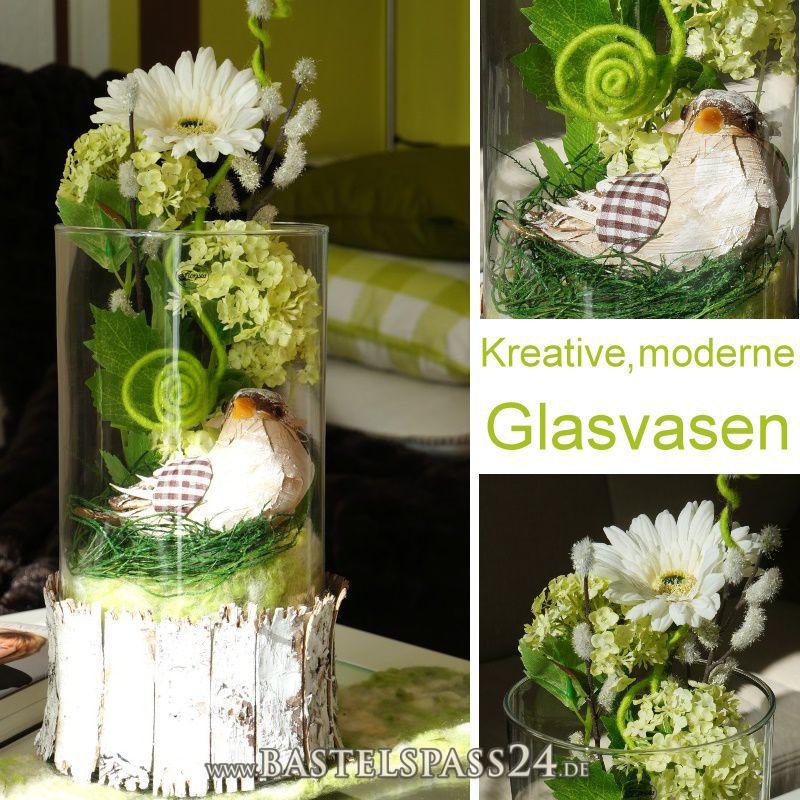 Glasvasen Glasgef E H 30 Cm B 15 F R Dekorationen