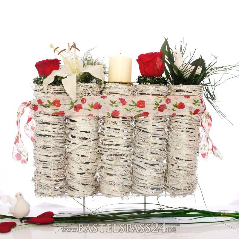 tischdeko fr hjahr selber machen mit frischblumen oder. Black Bedroom Furniture Sets. Home Design Ideas