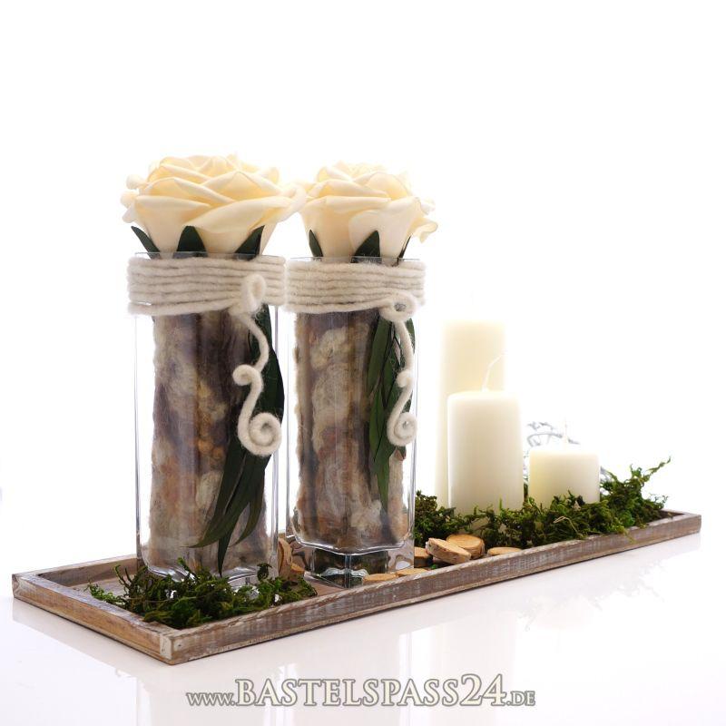 Tischdeko hochzeit naturlook  3920071403_dekoideen naturmaterialien – Loneoo.com