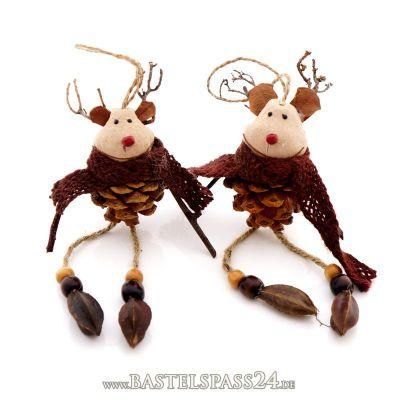 deko elch weihnachten als zapfen elchh nger ve 1 stk h ca 18 cm aufh nger n. Black Bedroom Furniture Sets. Home Design Ideas