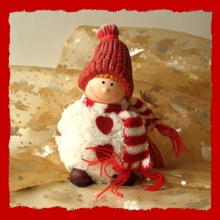 Weihnachten dekofigur zum basteln und dekorieren aus polyresin in ro - Weihnachten dekorieren ...