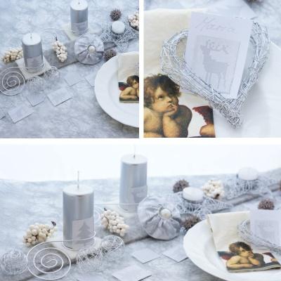 Kerzenhalter Fur Teelichter In Sternform Aus Glanzdraht Ideal F