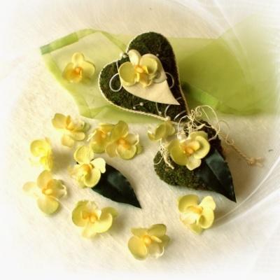 Mini Orchideenbluten Einzeln Zum Streuen Und Dekorieren Ve 12 St