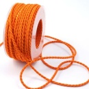 Kordel orange 4mm, L 2 m Strängchen