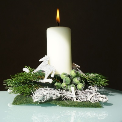 Kerzenstander Kerzenhalter Aus Rebe Und Rattan Tischdeko Fu