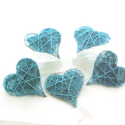 Tischdeko konfirmation selber machen  Tischdeko blau weiß für Kommunion Konfirmation, selber mach