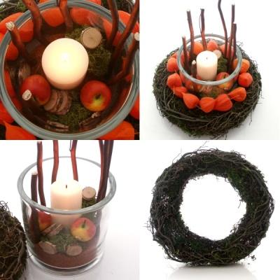 diy herbstdekoration modern selber machen florist. Black Bedroom Furniture Sets. Home Design Ideas