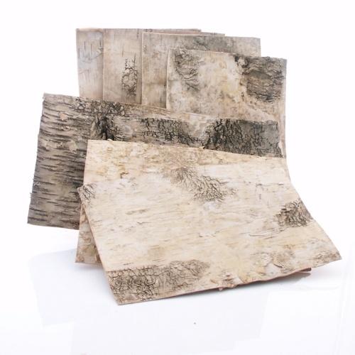 birkenplatten aus echter birkenrinde ve 8 st ck l 30 cm b 20. Black Bedroom Furniture Sets. Home Design Ideas