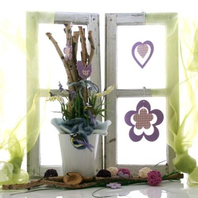 Fensterdeco Fur Das Fruhjahr Kreative Fensterbank Mit Birke