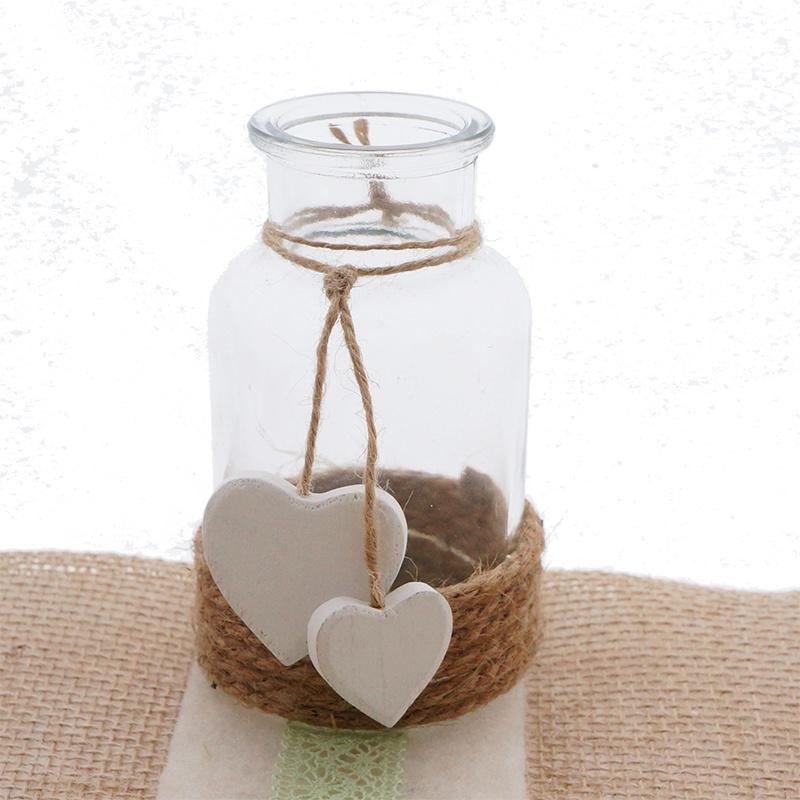 kleine glasflaschen vintage look floristik basteln bastelanleitungen. Black Bedroom Furniture Sets. Home Design Ideas