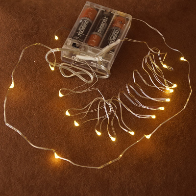 Micro Led Lichterkette 20 Lichter 2 M Bastelspass24 De