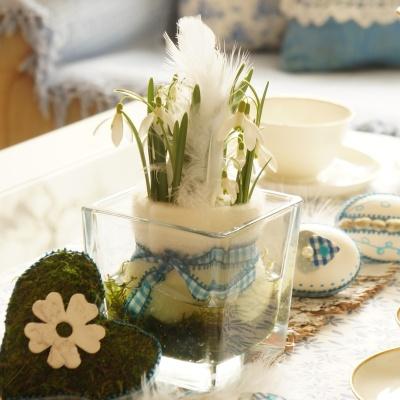 Tischdeko Fruhjahr Ostern Selber Machen Sehr Trendig Kreativ Und