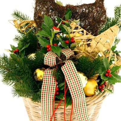 deko weihnachten t rschmuck f r eingang selber machen im gro. Black Bedroom Furniture Sets. Home Design Ideas