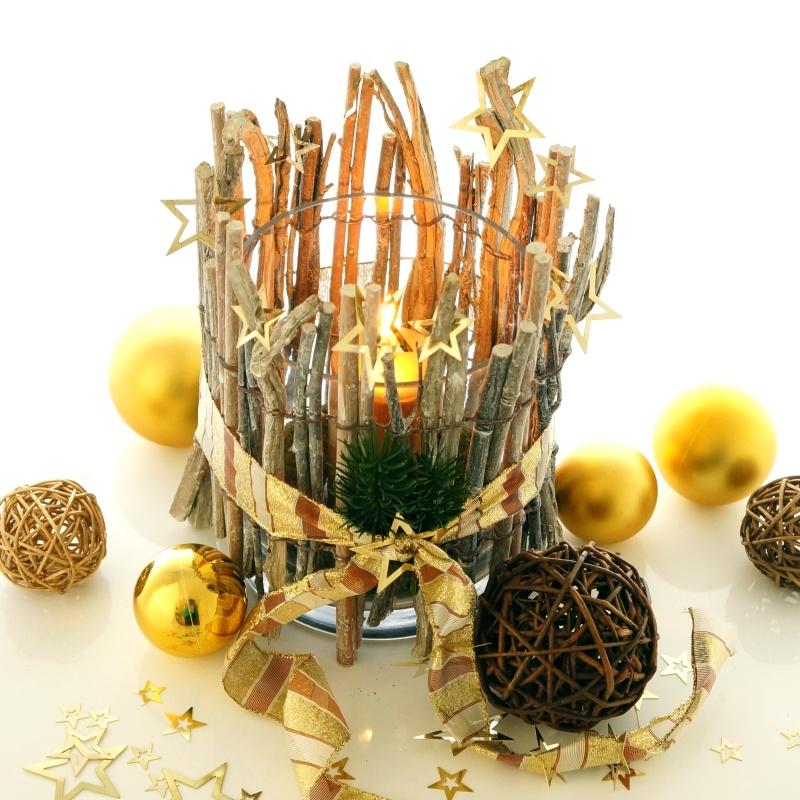 Tischdeko selber machen  Tischdeko Weihnachten | Selber machen ist trendig! - Bastelspass24.de