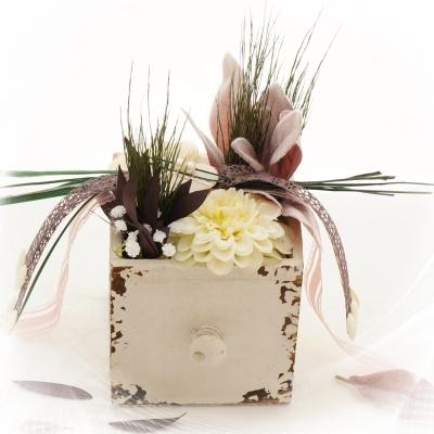 Tischdeko selber machen für Hochzeit und Feste im Landhausstil ...