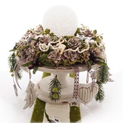 Streuteile weihnachten elche hirsch aus holz ve 24 st for Tischdeko advent