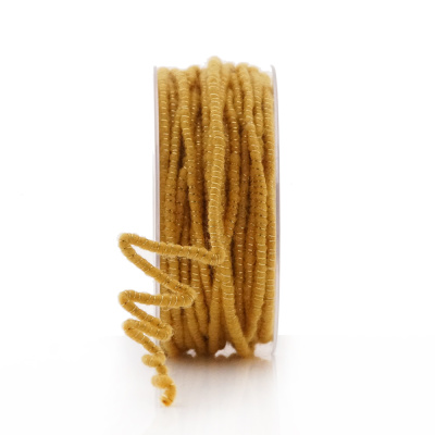 Wollschnur MIT GLANZ & DRAHT + Jutekern, L 3 m Stärke 5 mm,