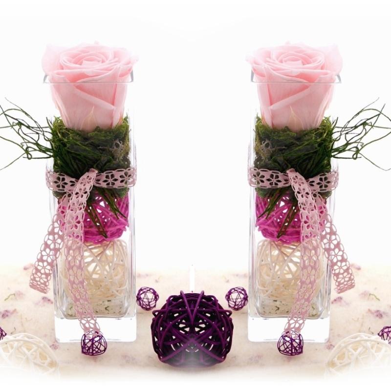 Tischdeko frühlingsblumen im glas  Glasvasen dekorieren | Deko im Glas selber machen - Bastelspass24.de -