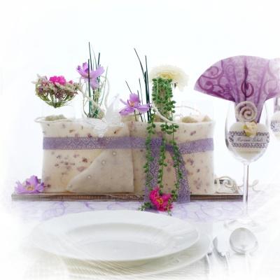 Diy Hochzeit Tischdeko Tischkarten Selber Machen Mit Wollband V