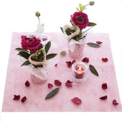 glasvase glastopf rosa f r tischdeko g nstig kaufen floristik basteln. Black Bedroom Furniture Sets. Home Design Ideas