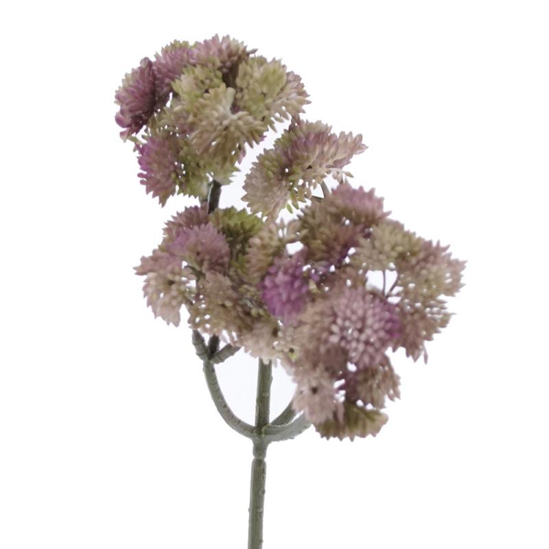 Herbstzweig Succulent, künstlich, L 30 cm Herbstdeko zum