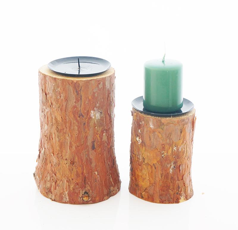Kerzenhalter | Kerzenständer für Advent - Bastelspass24.de - Floristi