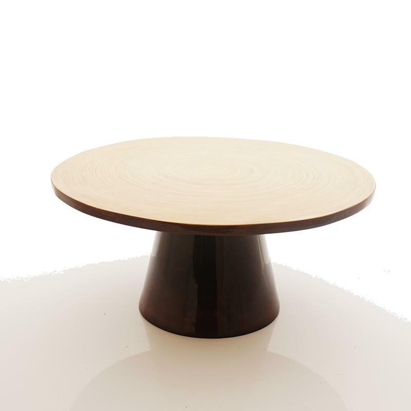 Holzschale modern gr 30x14 cm dekoschale f r die tischdekorati - Moderne osterdeko ...