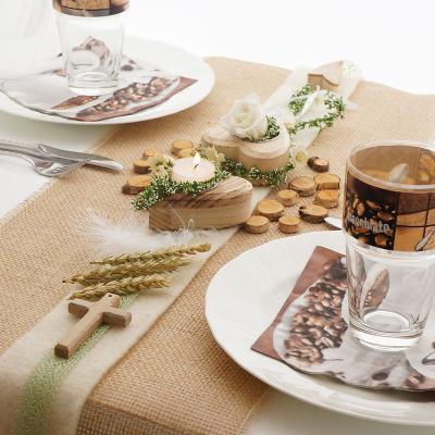 Teelichter Holzherzen Im Landhausstil Bastelspass24 De Floristik