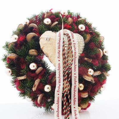 Türkranz Weihnachten türkranz weihnachten rustikal mit holzstern bastelspass24 de