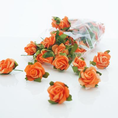 Streurosen Fur Hochzeit Softrosen Zum Streuen Orange Ca 2 Cm C