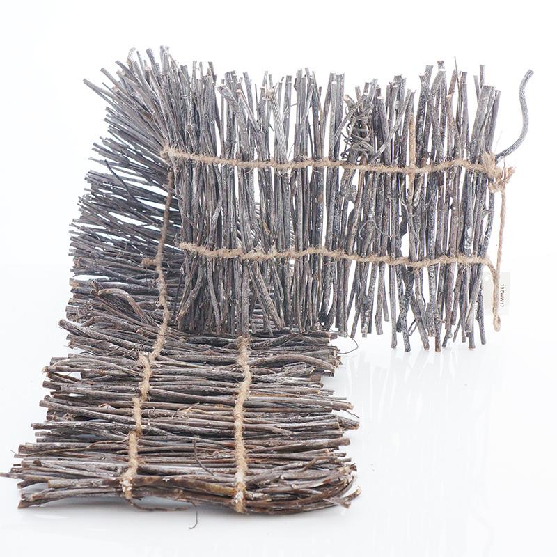 zweig matte als tischl ufer floristik basteln bastelanleitungen und. Black Bedroom Furniture Sets. Home Design Ideas