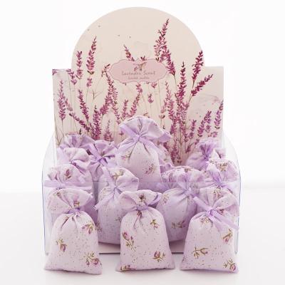 20 lavendel dufts ckchen als tischkarten bastelspass24. Black Bedroom Furniture Sets. Home Design Ideas