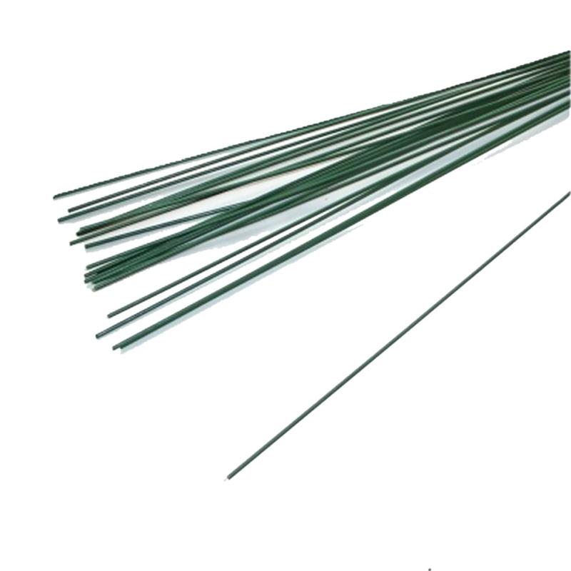 Blumendraht grün L 40 cm , 20 Stück - Bastelspass24.de - Flo
