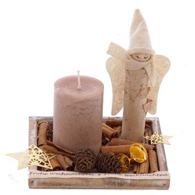 Diy Tischdeko Fur Weihnachten Advent Mit Holz Und Naturdek