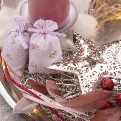 Diy adventskranz vintage f r advent floristik basteln bastelanleitungen - Einmachglaser dekorieren vintage ...