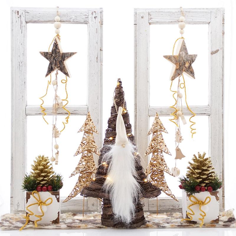 Fensterdeko advent weihnachten zum tr umen sch n floristik basteln - Fenster deko weihnachten ...