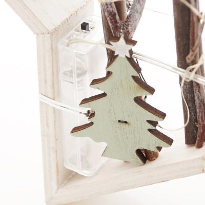 Stern mit led fensterdeko t rschmuck floristik basteln - Led fensterdeko weihnachten ...