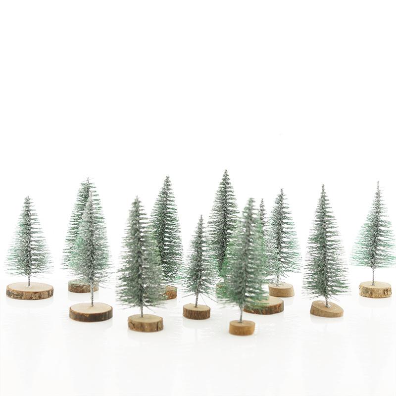 Mini deko tannenb ume advent weihnachten bastelspass24 - Dekoration advent ...