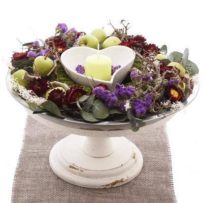 Tischdeko Für Den Herbst Basteln Ideen Zum Selber Machen Bastelspa