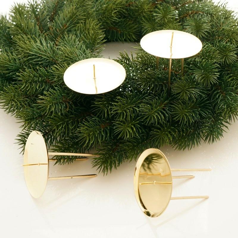 tannenkranz adventskranz premium qualit t k nstlich d 28. Black Bedroom Furniture Sets. Home Design Ideas
