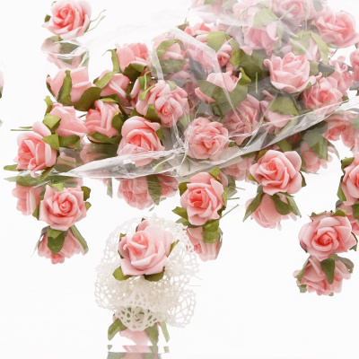 Streurosen Fur Anstecker Hochzeit Bastelspass24 De Floristik