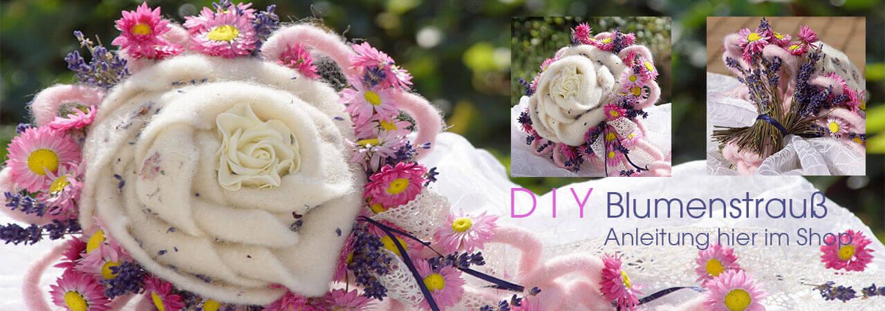 Blumenstrauß | Sommerstrauß DIY Idee mit Troc