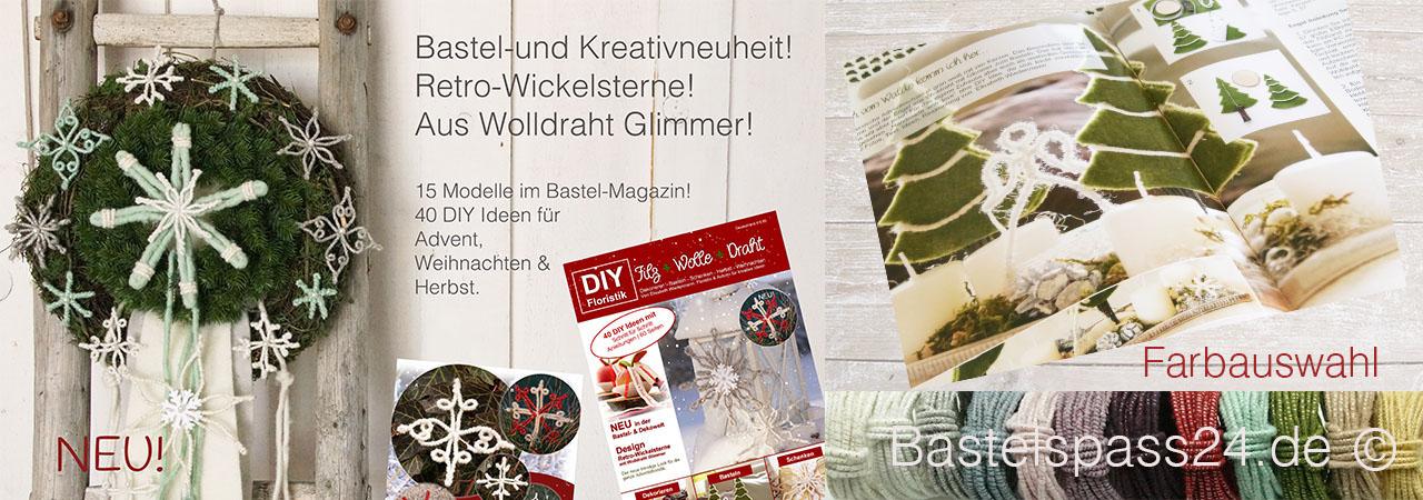 DIY Magazin Filz + Wolle + Draht | Floristik