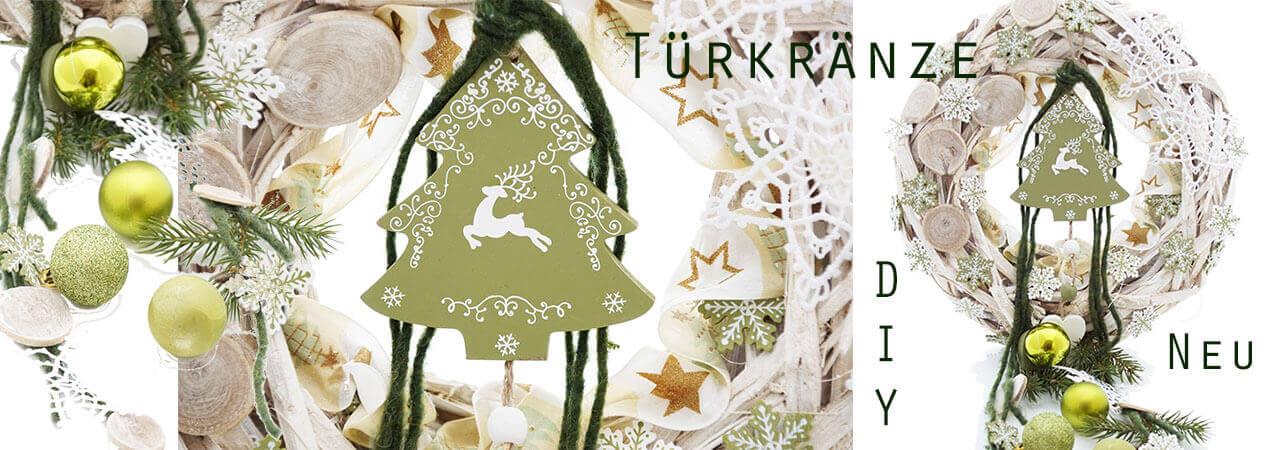 Türkränze für Weihnachten | Selber machen, ba