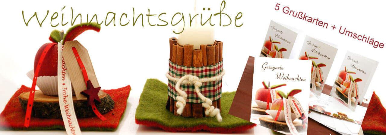 Weihnachtskarten im Landhausstil kaufen