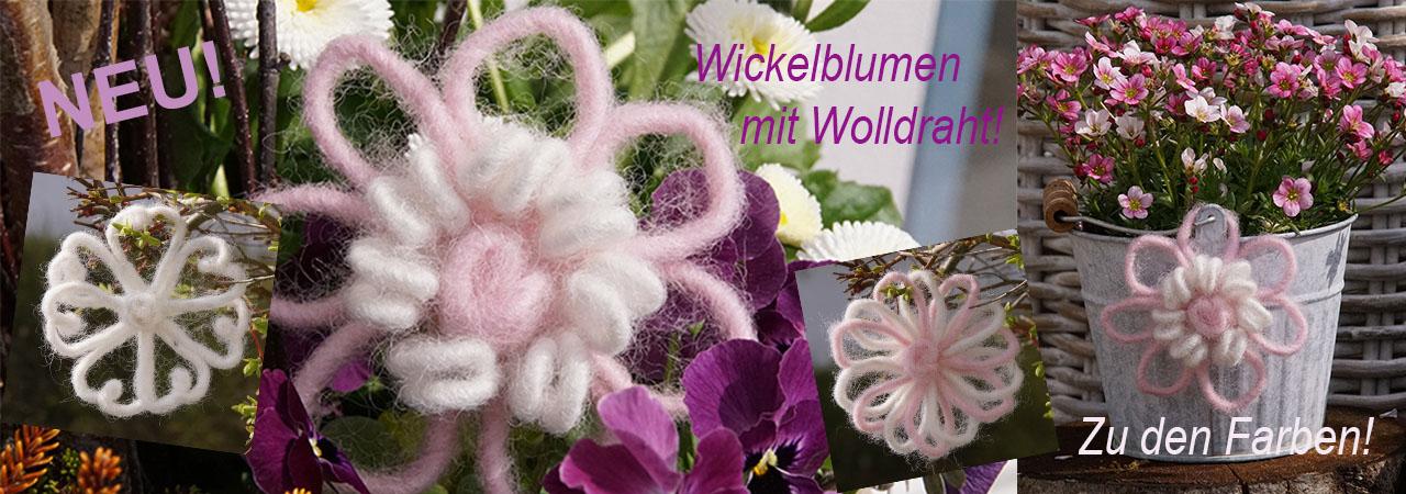 Wickelblumen-Deko-Blumen-basteln-mit-Wolldrah