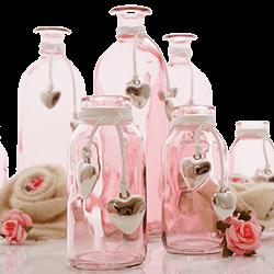 Bastelspass24 floristik deko im bastel online shop for Leere flaschen dekorieren