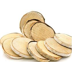 Birkenscheiben für Tischdeko, zum Basteln, zum Dekorieren günstig kaufen